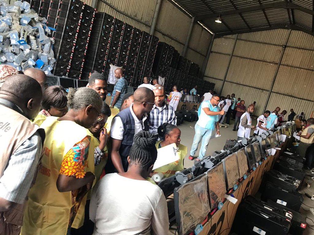 RDC- CENI: Lancement de contrôle qualité des machines à voter