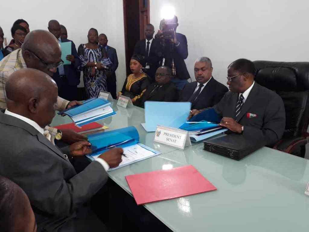 RDC: Thambwe Mwamba prend officiellement la commande du sénat