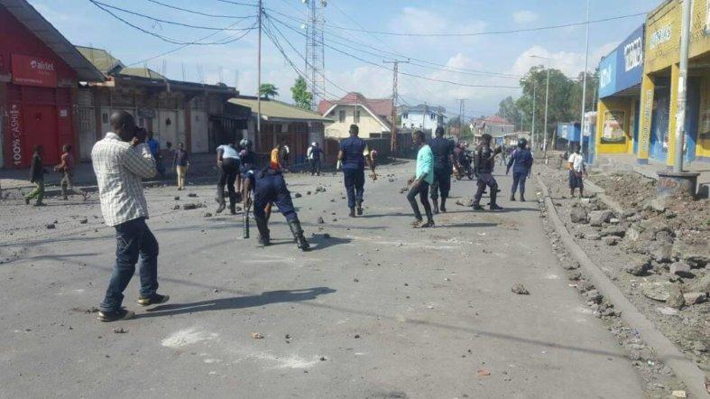 Kasaï oriental : Deuxième jour des manifestations des rues par les combattants de l'UDPS