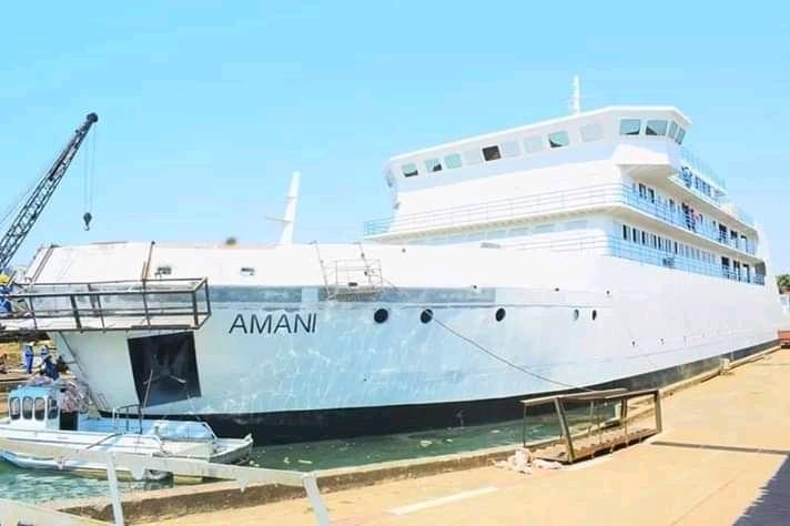 RDC: Le bateau AMANI en mer ce mois d'août