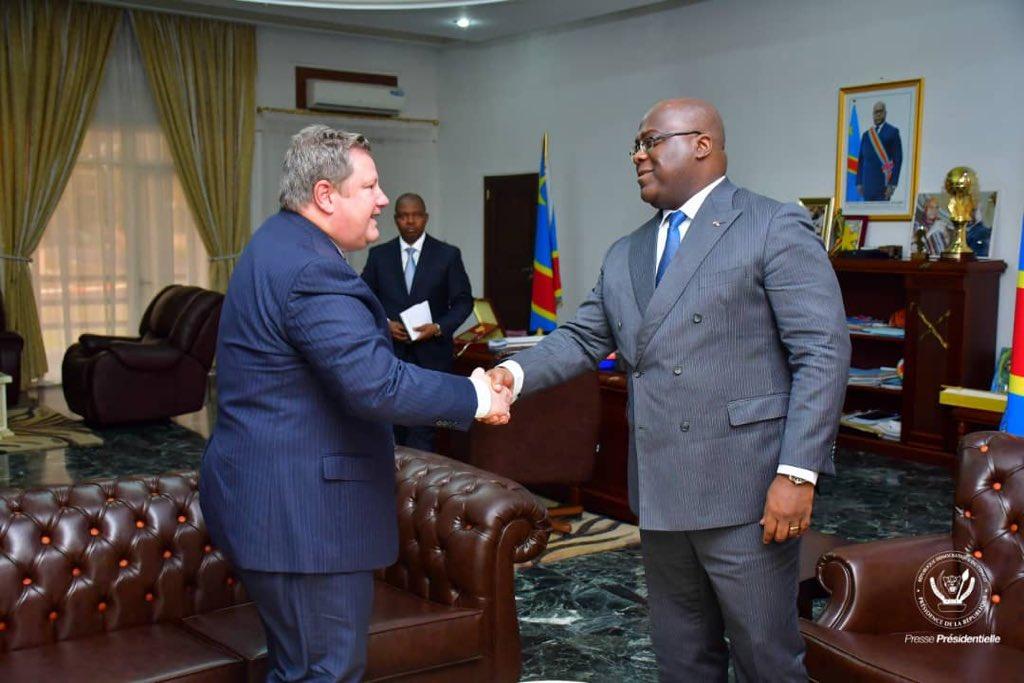 RDC: Mike Hammer chez Tshisekedi