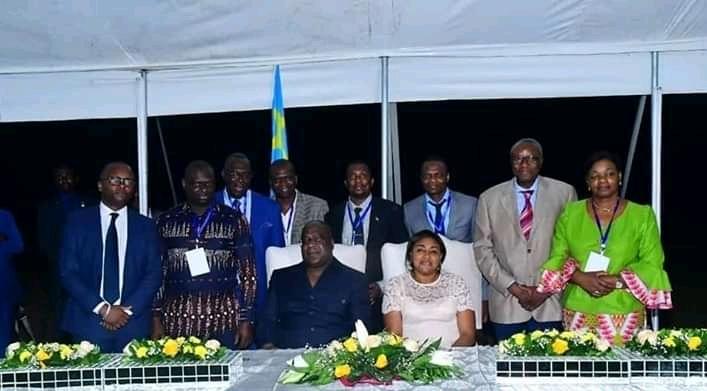 RDC : 150 Congolais résidant en Belgique reçus par TSHISEKEDI