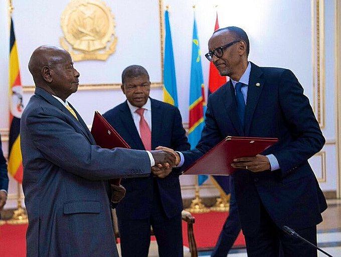 RDC-ANGOLA: Kagame et Museveni enterrent la hache de guerre à l'inititiave de Tshisekedi
