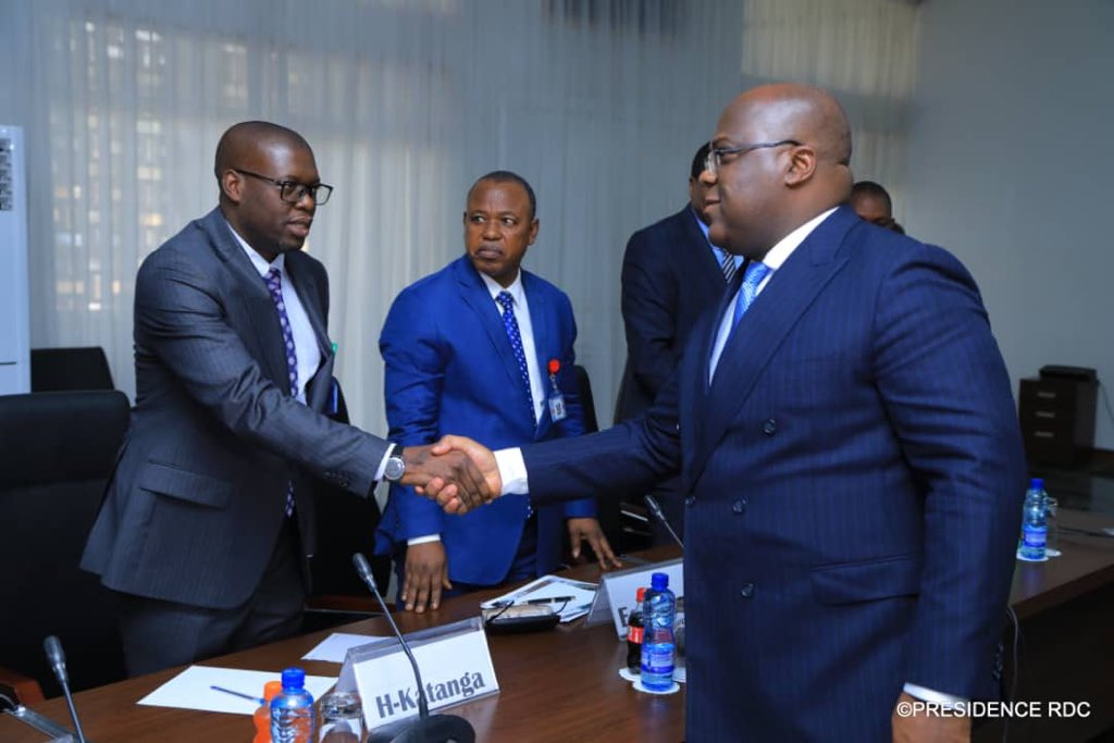 RDC: Tshisekedi reçoit les gouverneurs des provinces en séjour à Kinshasa