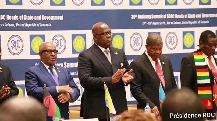 RDC-SADC: Tshisekedi se félicite de l'adoption du Swahili comme quatrième langue de travail