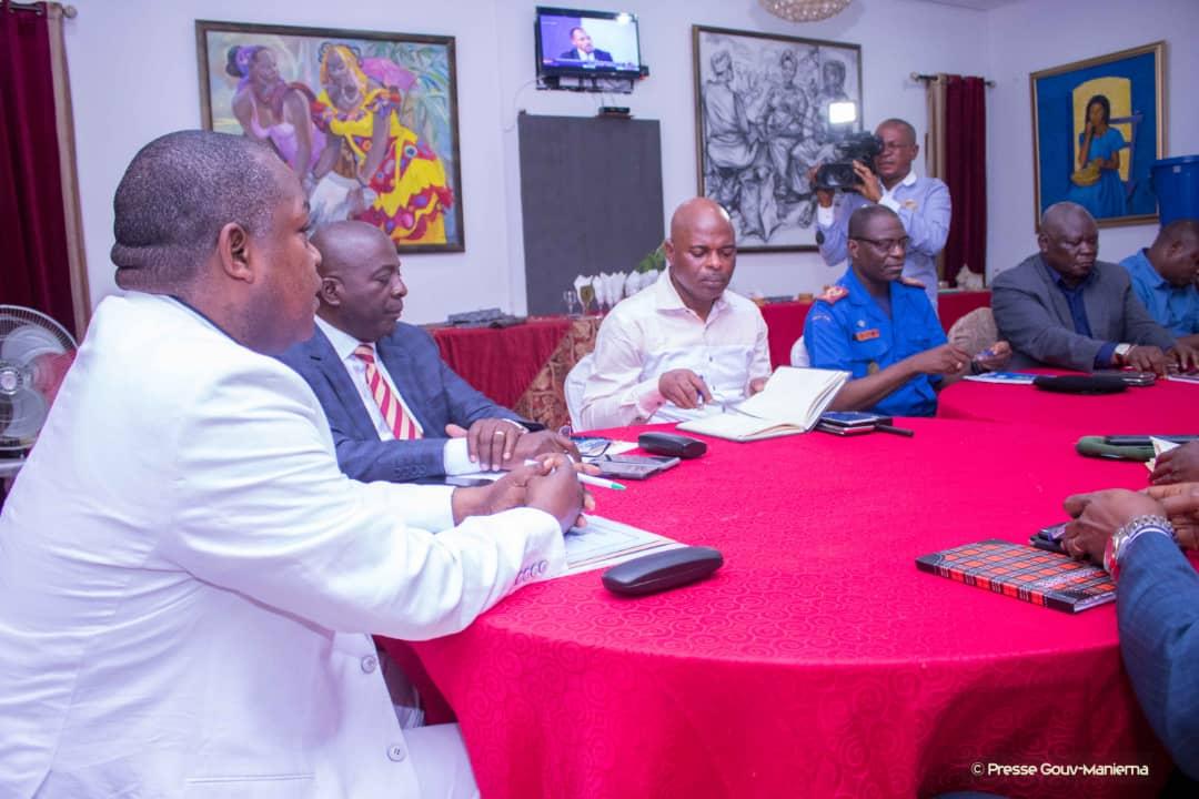 RDC- MANIEMA: Basile OLONGO préside le conseil de sécurité