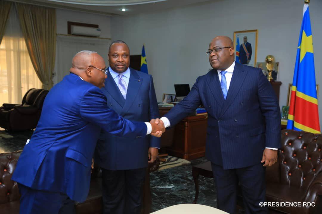 RDC: Un envoyé de Sassou chez Tshisekedi