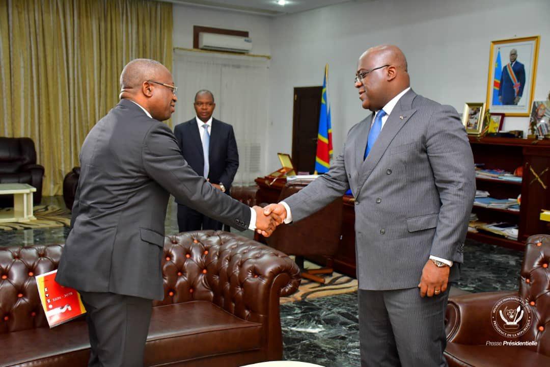 RDC: Le ministre de la santé publique présente son rapport à TSHISEKEDI