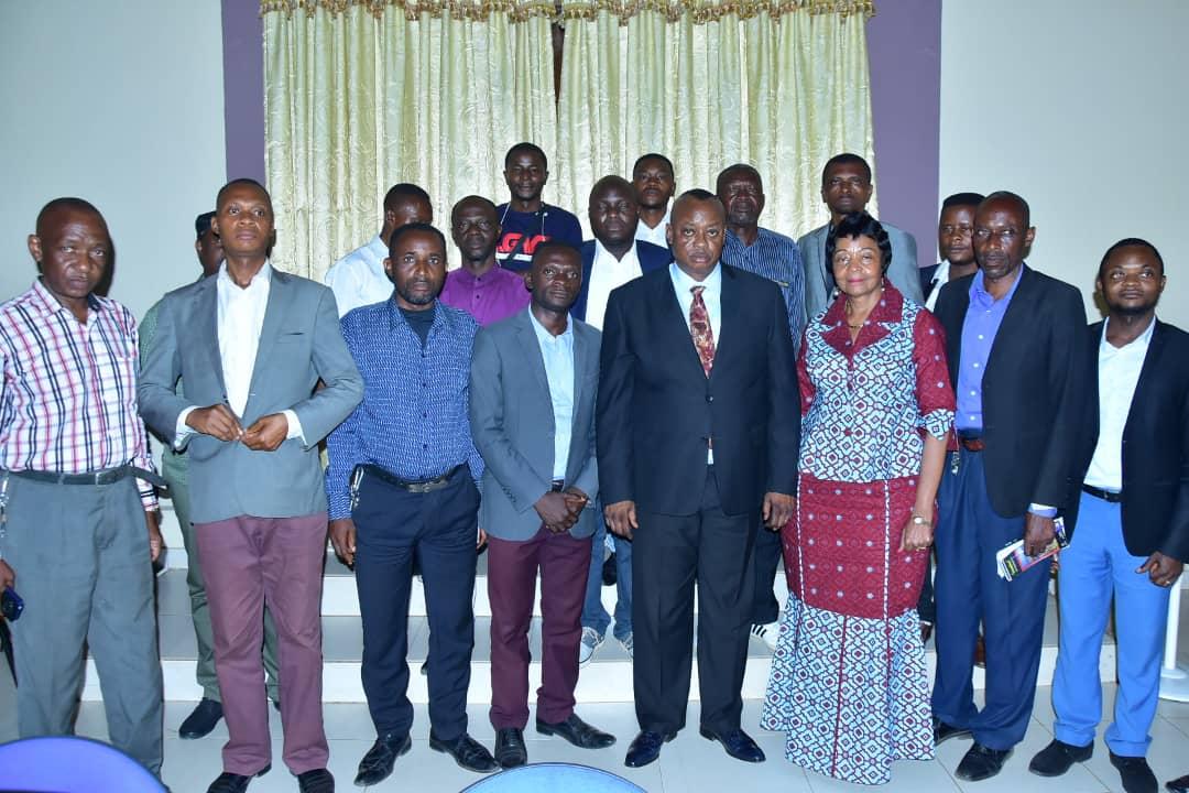 Kasaï oriental : Premier Face-à-face du gouverneur Maweja Muteba avec les directeurs des médias