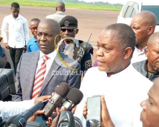 RDC: Basile OLONGO met le cap sur Maniema pour assurer la sécurité