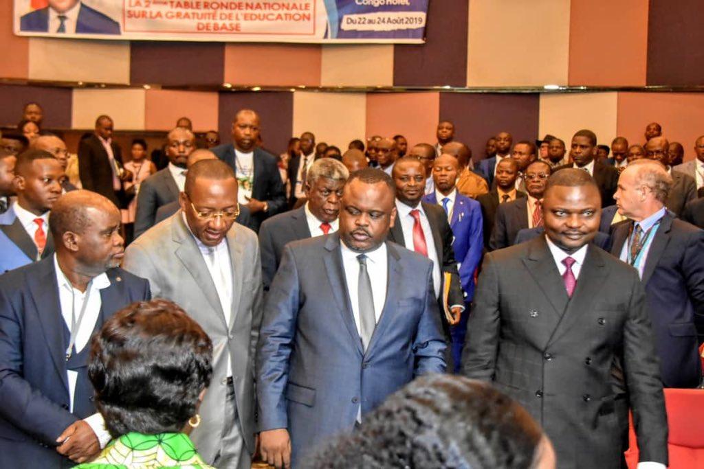 RDC: Table ronde sur la gratuité de l'enseignement, Mondonge représente Tshisekedi