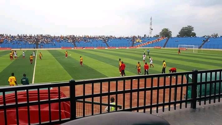 SPORTS- Linafoot D1: Sanga Balende fait match nul sur sa pelouse