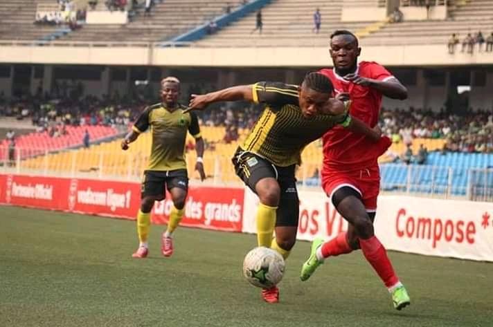 SPORTS- Linafoot D1: VClub punit  L'AS Simba par 4 buts à zéro