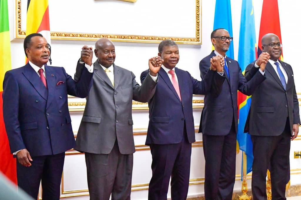 RDC: Kagame et Museveni fument le calumet de paix, Tshisekedi se félicite