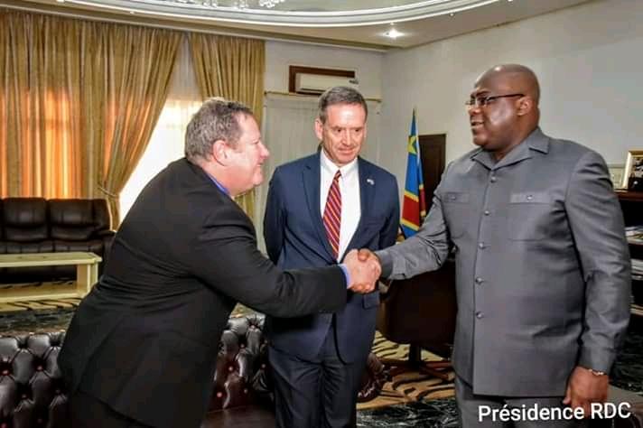 RDC: L'administrateur de l'USAID, M. Mark Andrew Green chez Tshisekedi