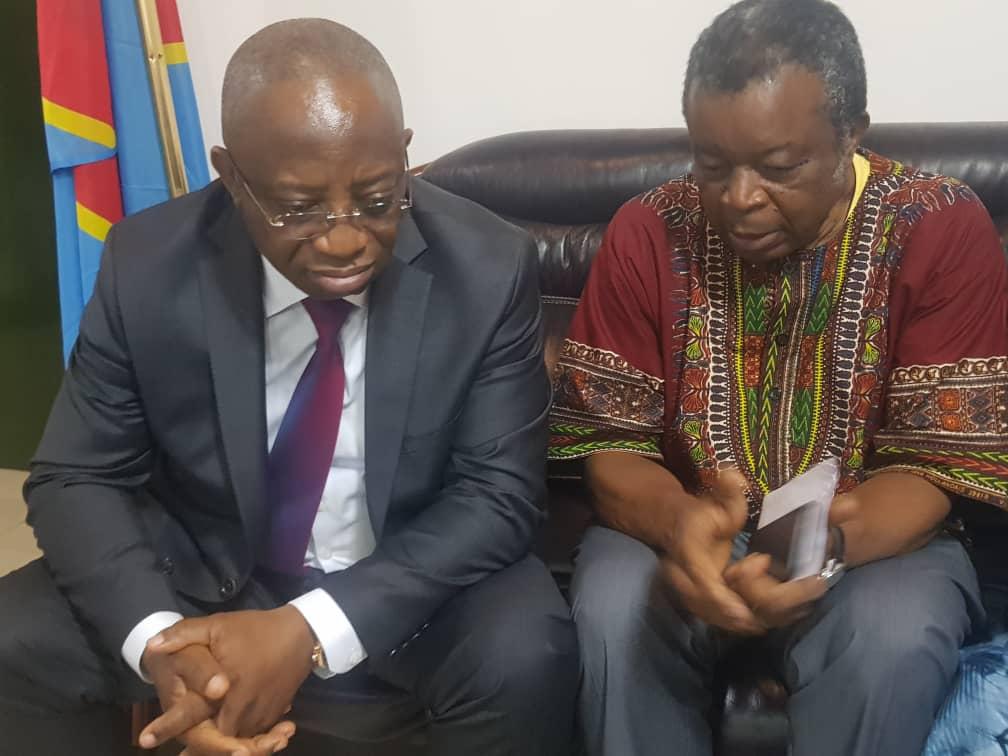 RDC-Ebola: Réunion entre ministres de la santé de la RDC et du Rwanda à Gisenyi