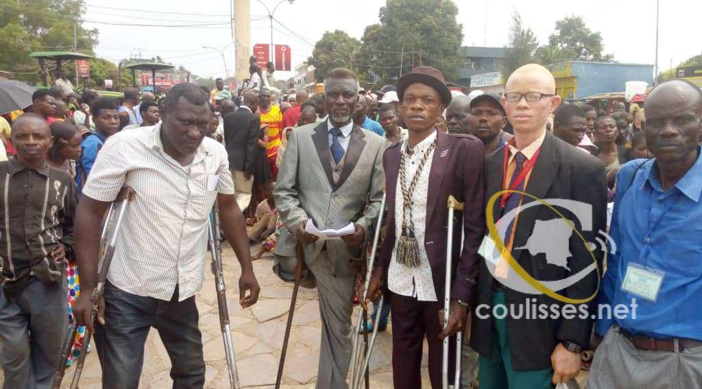 Kasaï oriental : l'Union des personnes vivant avec handicap UPVH salue l'avènement de Esambo