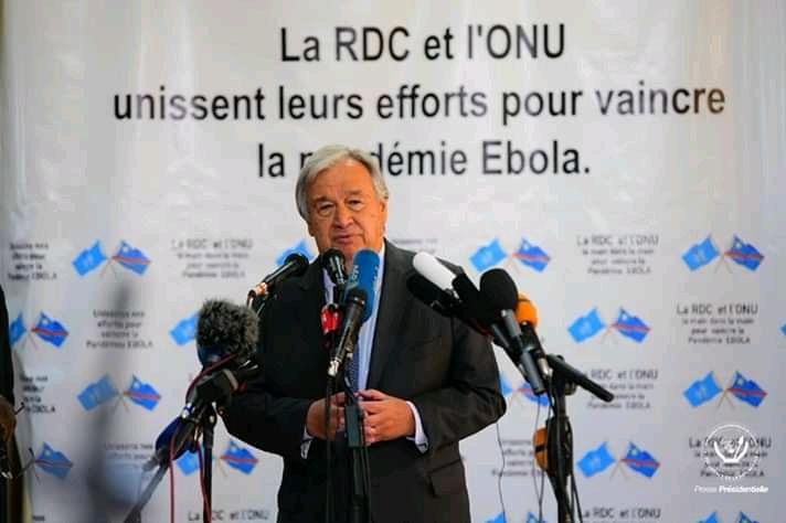 RDC : Antonio Guterres nourrit l'espoir paix à l'Est du pays