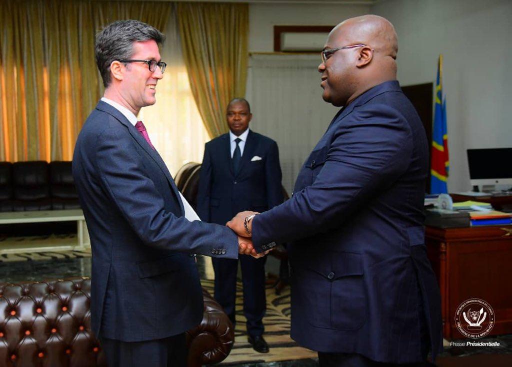 RDC: Tête-à-tête Tshisekedi- Ambassadeur du Canada en RDC
