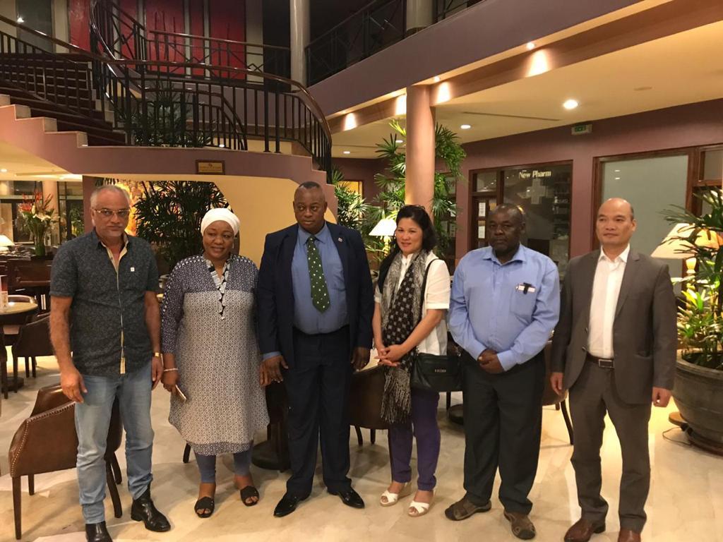 Kasaï oriental : Les investisseurs subsahariens font rapport au gouverneur Maweja