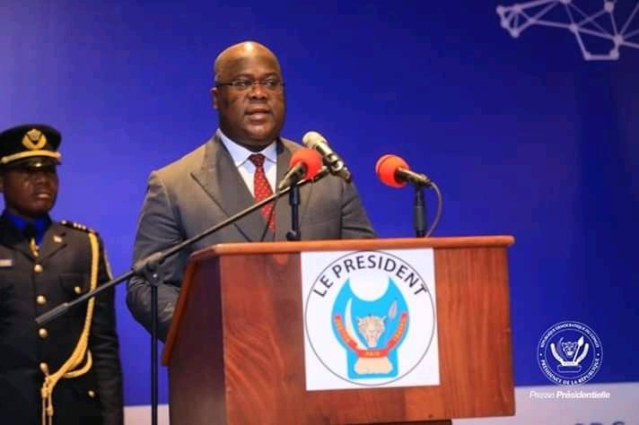 RDC : Ouverture des travaux du forum sur le numérique par Tshisekedi