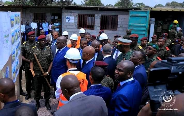 RDC : Tshisekedi matérialise sa promesse de donner l'eau et l'électricité au camp Tshatshi