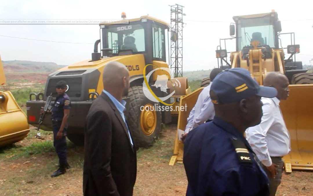 Kasaï oriental :La MiBA récupère ces engins grâce au Lobbying de J.Maweja