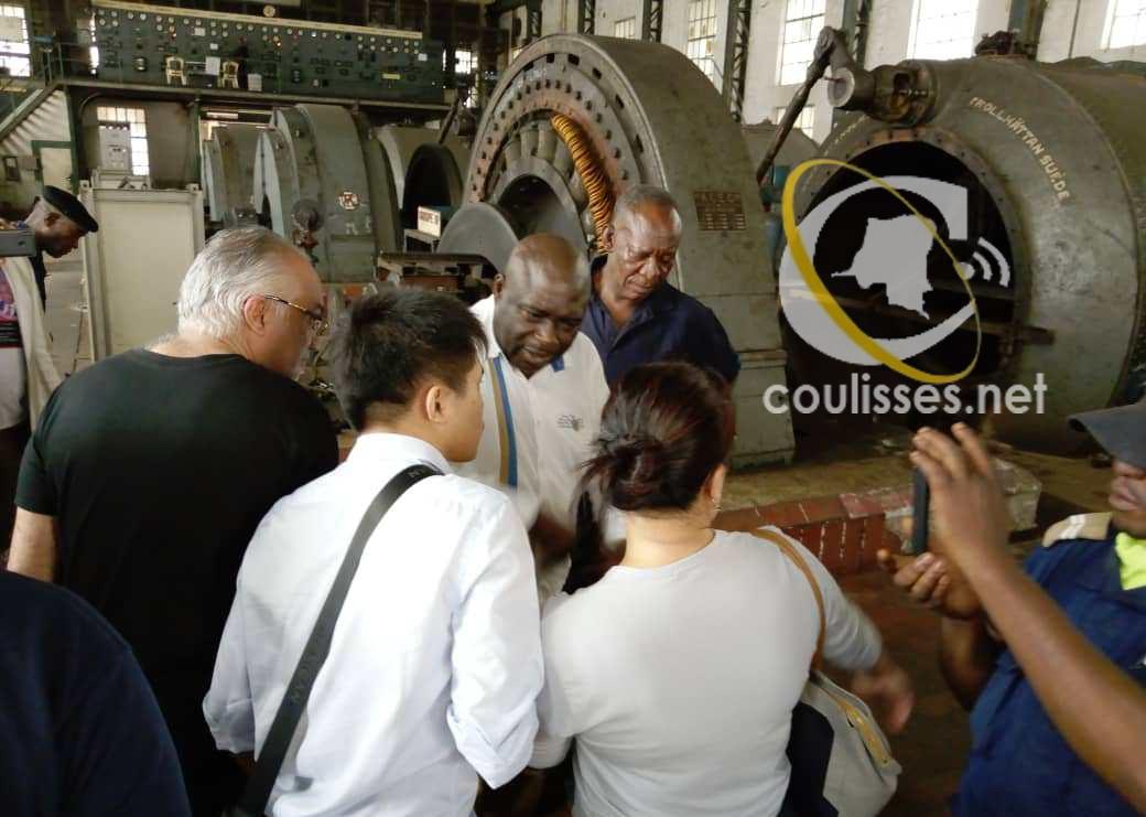 Kasaï oriental : Visite de la délégation de l'entreprise AFRICRANE à Tshiala