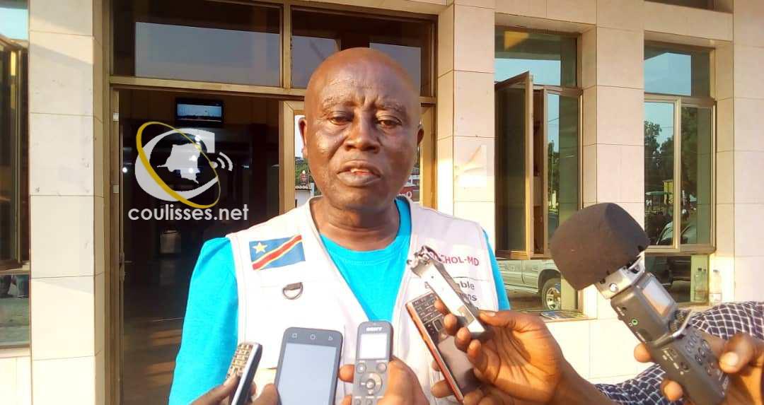 Kasaï oriental : J. Sumba présente les besoins pour lutter contre le Choléra au gouvernement