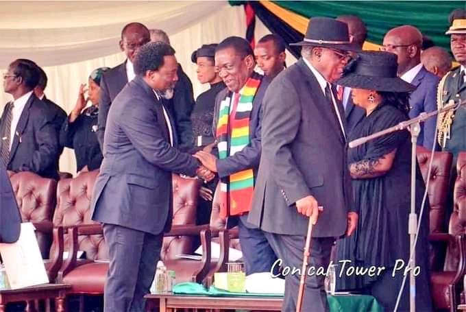 RDC-Zimbabwe: Joseph Kabila aux obsèques de Mugabe.
