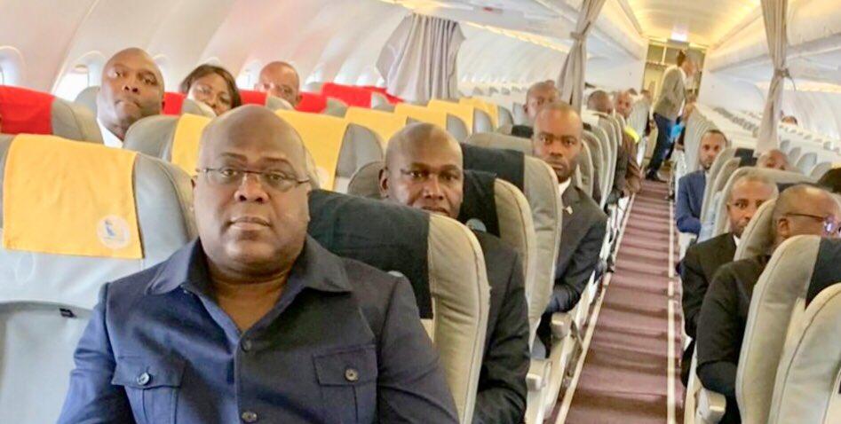 RDC : Tshisekedi voyage en Belgique avec une  délégation de 51 personnes