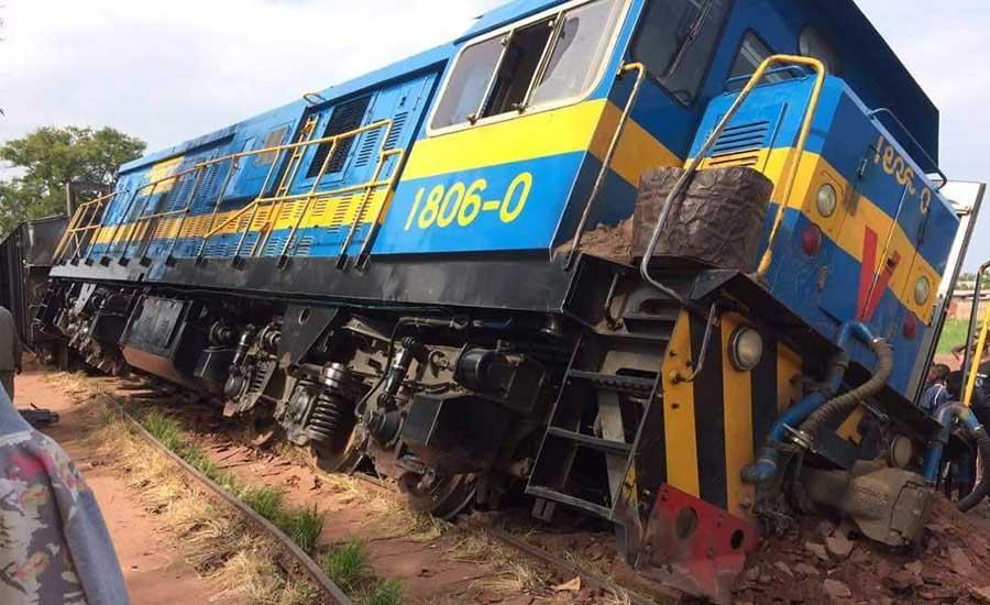 RDC-Tanganyika : le déraillement d'un train cause la mort de 10 personnes