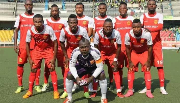 SPORTS-Vodacom Ligue 1: SM Sanga balende à Kinshasa pour deux matchs importants.