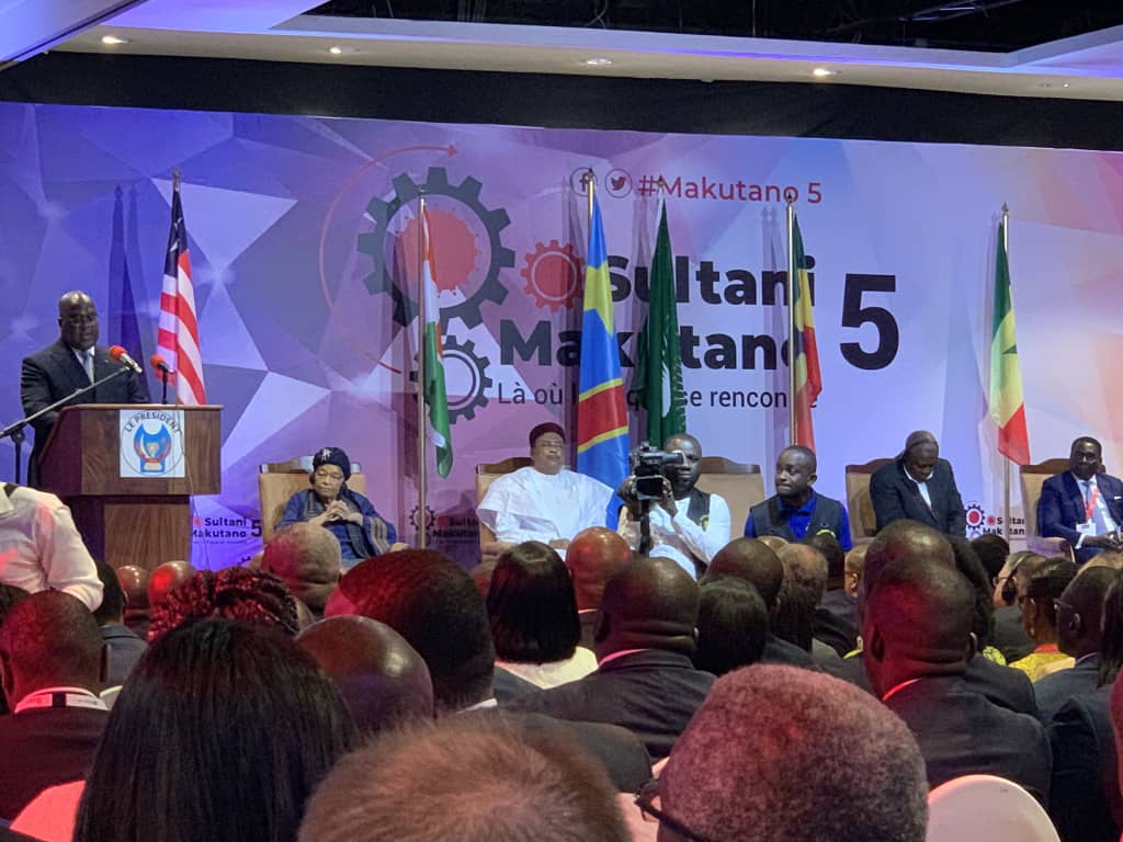 RDC: Tshisekedi lance les travaux du Forum Makutano