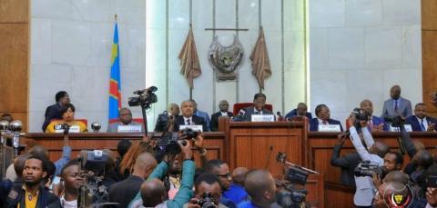 RDC: Les sénateurs renouent avec l'hémicycle dès ce lundi