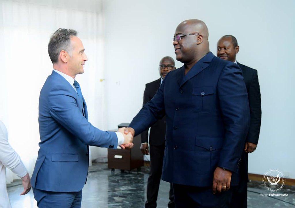 RDC:Tshisekedi reçoit le ministre allemand de la coopération