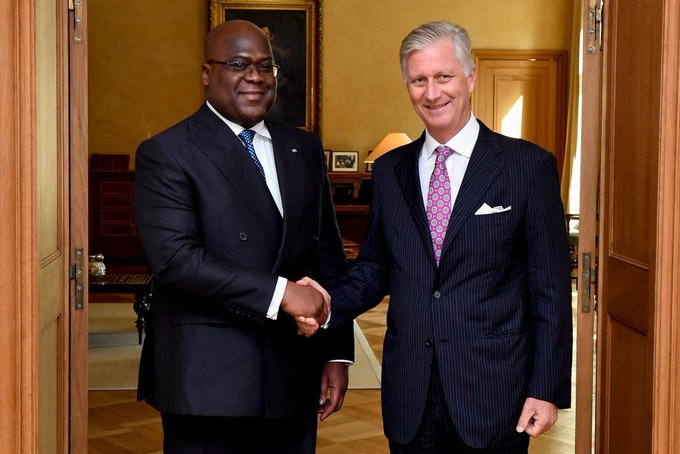 RDC- Belgique : tête-à-tête Tshisekedi- roi Philippe