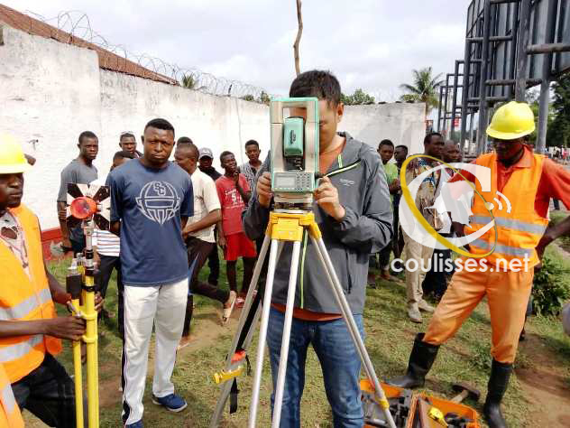 Kasaï oriental : L'entreprise CGCD déterminée à asphalter l'avenue Odia David
