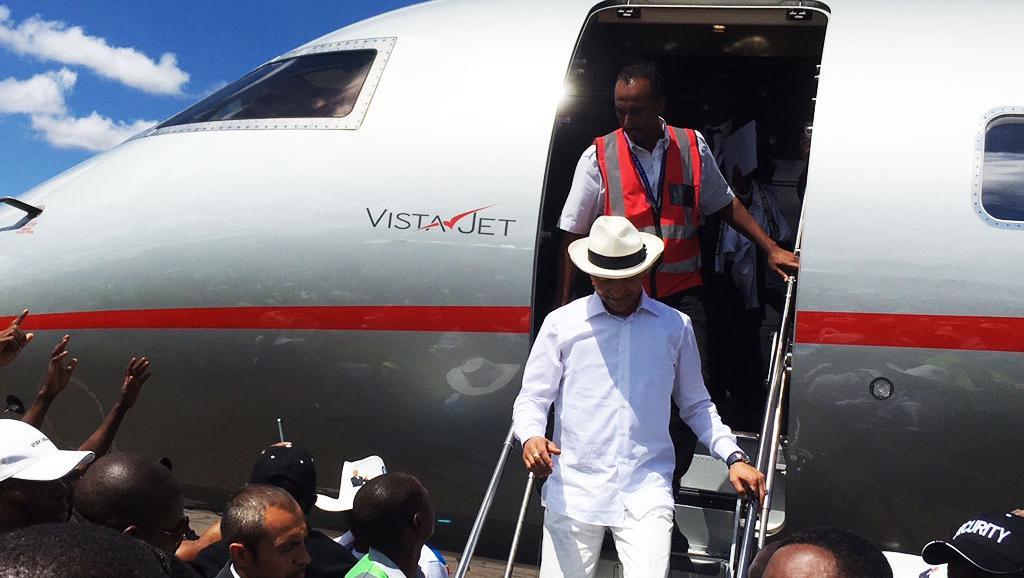 RDC : Katumbi foule le sol de Goma
