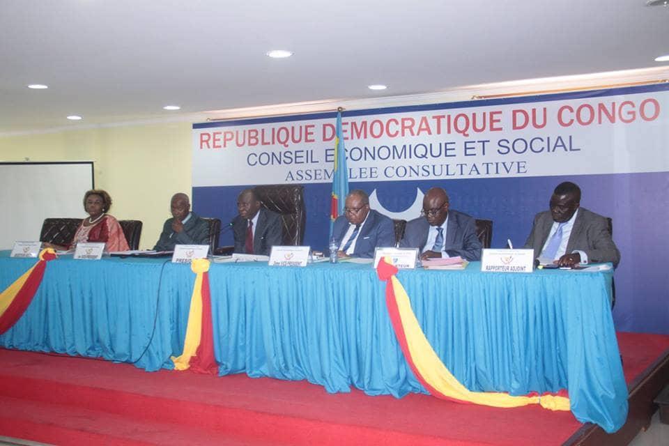 RDC : ouverture ce mardi de la 10 ème session du Conseil Économique et Social