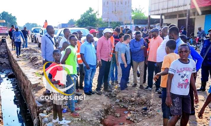 Kasaï oriental : Dernière visite de l'avenue Odia David avant le début des travaux d'asphaltage