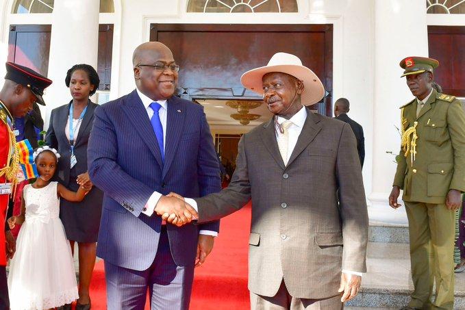 RDC- Ouganda: Élection de Tshisekedi une nouvelle ère d'espoir  dans les Grands Lacs (Museveni)
