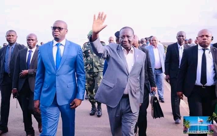 RDC- Haut-Katanga : première visite de Ilunga Ilunkamba à  l'intérieur du pays