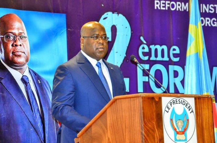 RDC : Tshisekedi ouvre le 2 ème forum national sur la décentralisation