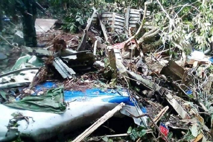 RDC : Crash de l'antonov 72, l'épave du véhicule du chef de l'État retrouvé