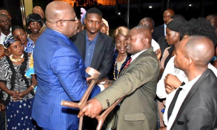 RDC: Tshisekedi promet de valoriser la personne vivant avec handicap