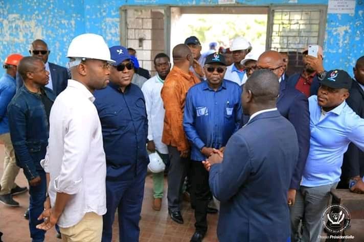 RDC: Félix Tshisekedi a fait la ronde de tous les sites de construction des Sauts-de-mouton à Kinshasa