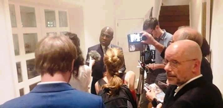 RDC: Fayulu présente le plan de sortie de crise à Sophie Wilmès