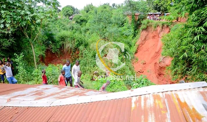 Kasaï oriental : Les familles, victimes des pluies au quartier Mikela, abandonnées par les autorités provinciales