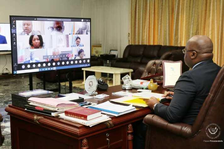 RDC: Félix Tshisekedi préside la 33 ème réunion du conseil des ministres
